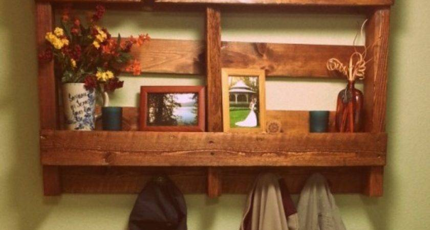 Our Very Own Diy Pallet Shelf Cultivate Your Wellness