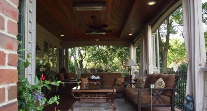 Outdoor Chic Back Porch Ideas Home Design
