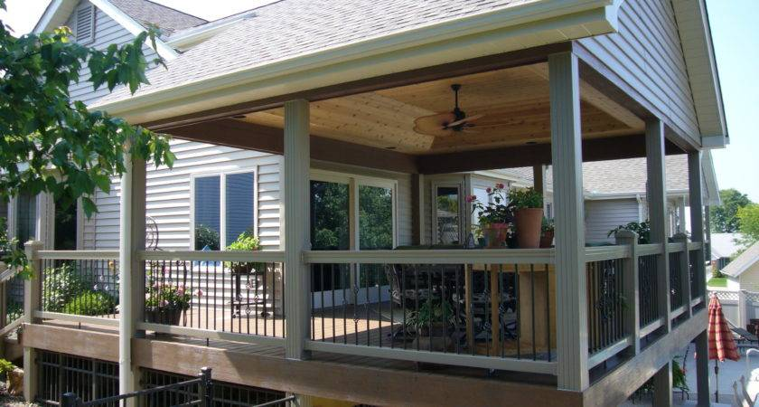 Outdoor Covered Deck Ideas Home Design