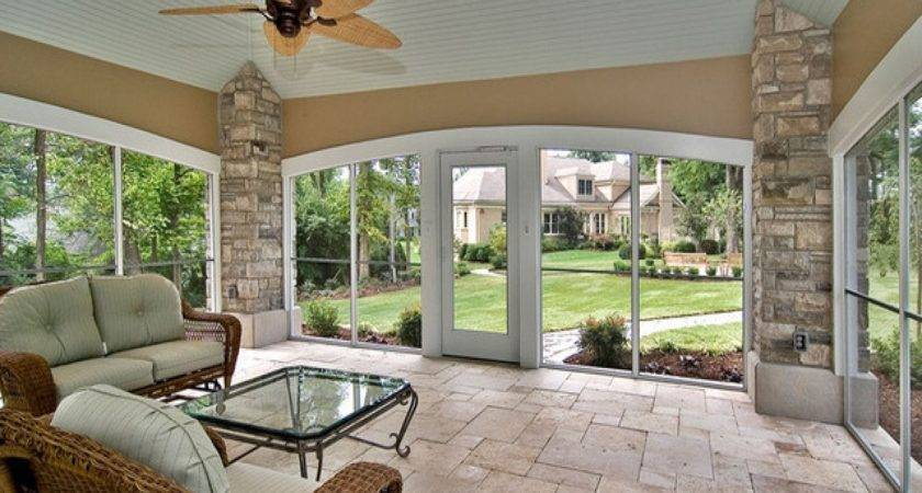 Outdoor Enclosed Patio Ideas Back Yard