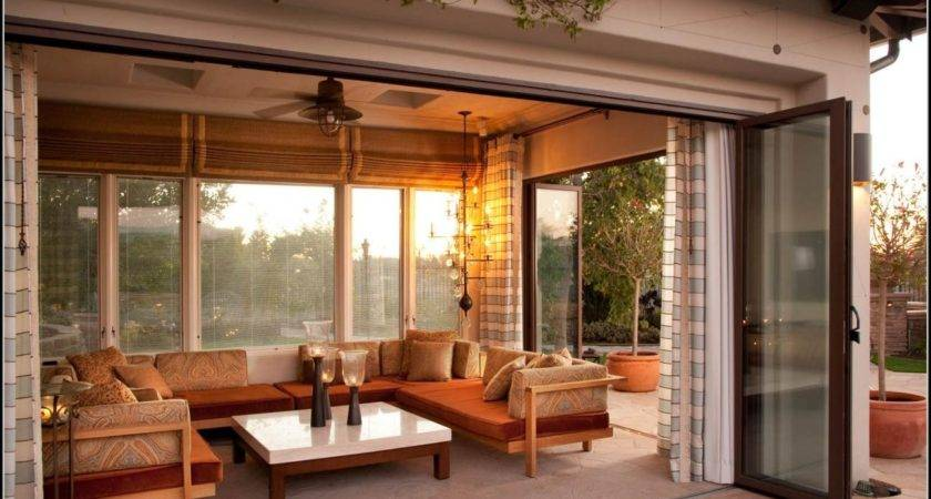 Outdoor Enclosed Patio Ideas Patios Home Decorating