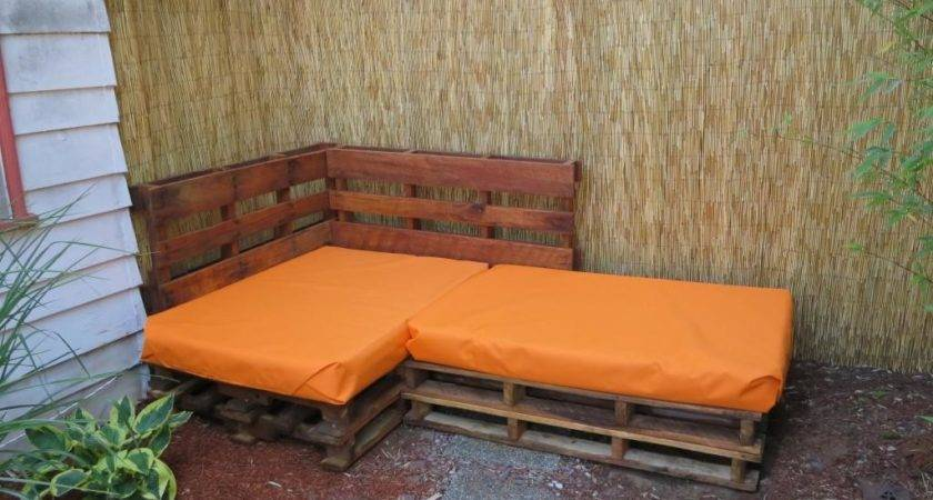 Outdoor Furniture Made Pallets Repurposed