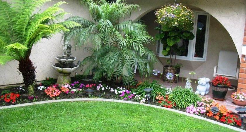 Outdoor Garden Wonderful Ideas Front Yard