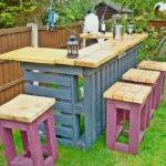 Outdoor Pallet Furniture Diy Tutorial