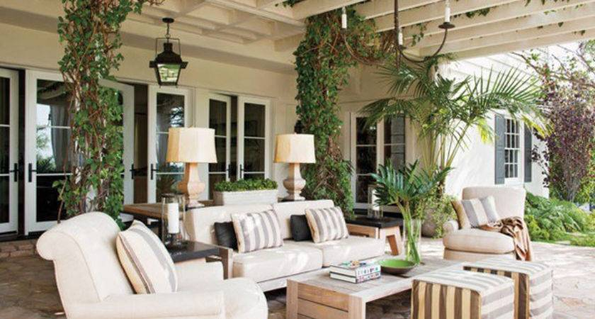 Outdoor Spaces Ideas Accessorizing Patios Porches