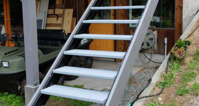 Outdoor Stair Stringers Fast Stairs