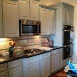 Outstanding Best Granite Cherry Cabinets Colors
