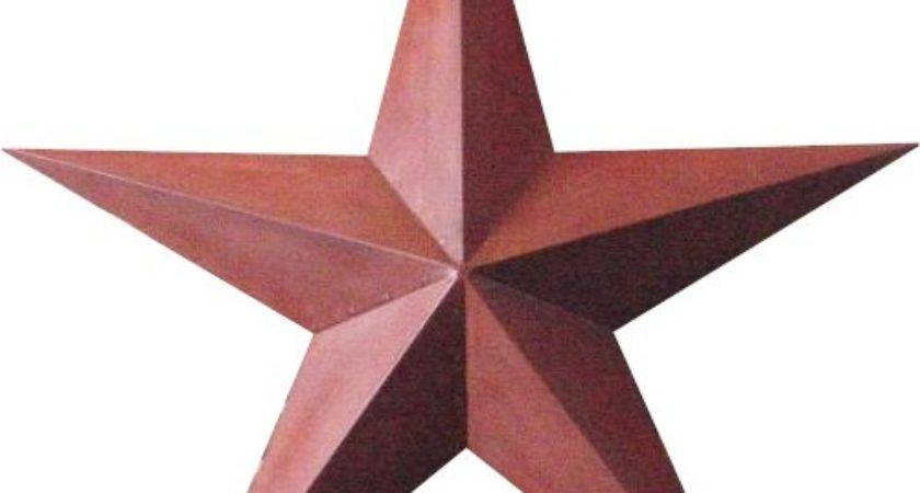 Over Country Store Wholesale Rusty Tin Stars