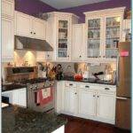 Paint Color Small Kitchen White Cabinets