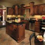 Paint Colors Kitchens Dark Cabinets Pinterest