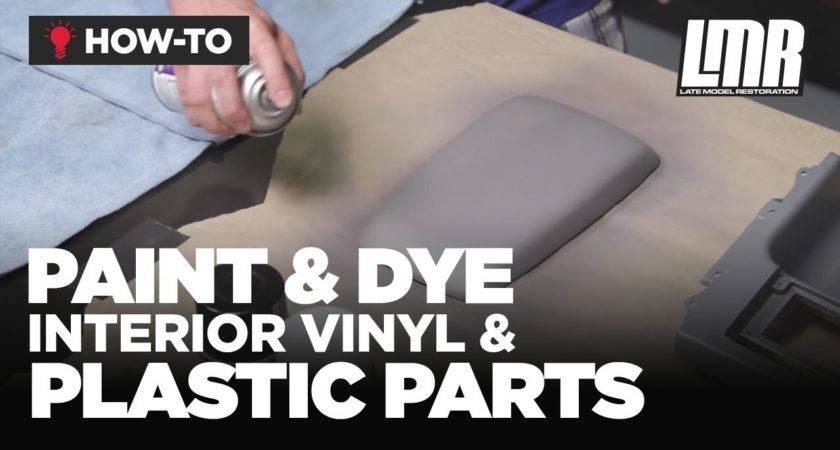 Paint Dye Interior Vinyl Plastic Parts