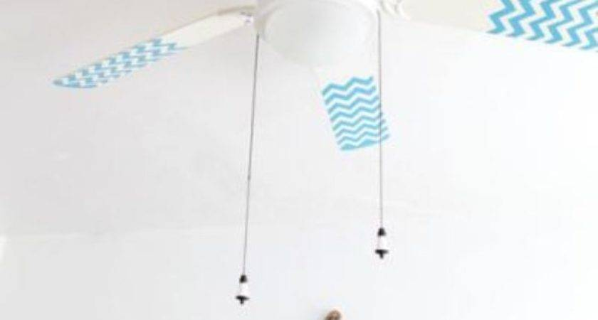 Paint Fan Blades Diy Decorating Tip Junkie