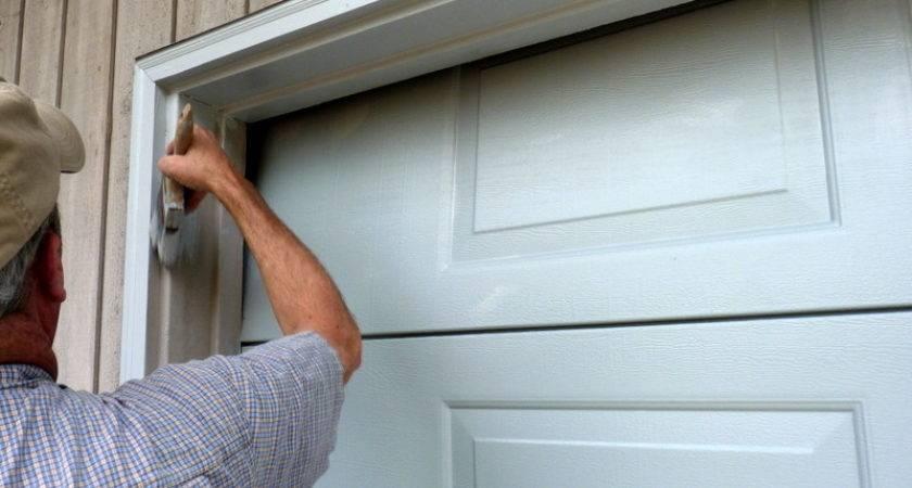 Paint Garage Door Simple Steps