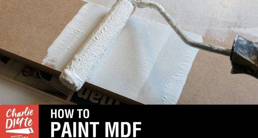 Paint Mdf Video Youtube