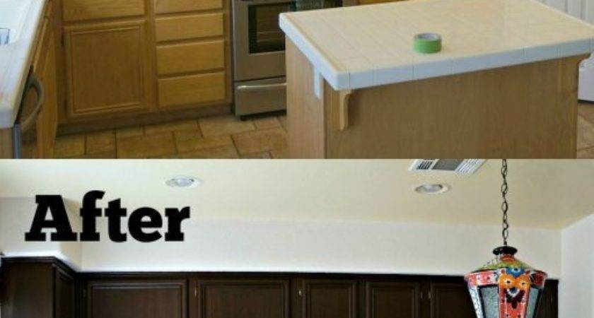 Paint Mobile Home Cabinets Thesocialworkernovel