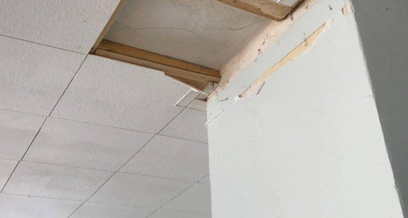 Paint Over Water Stains Ceiling Tiles