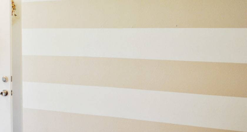 Paint Perfect Stripes Textured Wall