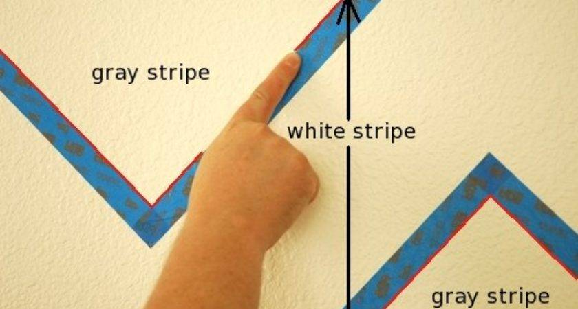 Paint Perfect Stripes Textured Walls Makely