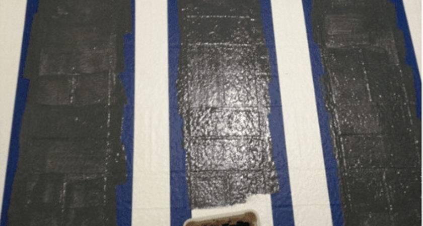 Paint Ugly Vinyl Floors Handy Diy