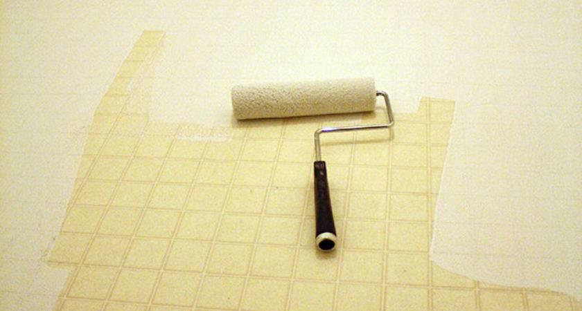 Paint Vinyl Linoleum Sheet Flooring