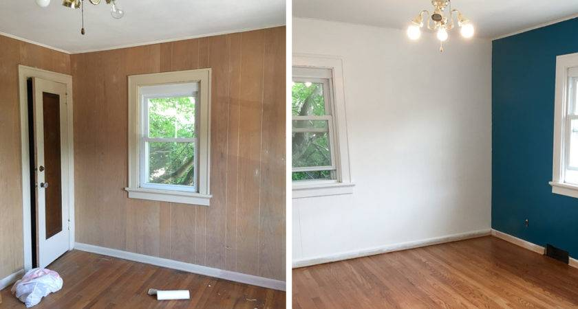 Paint Wood Paneling Curated Couple