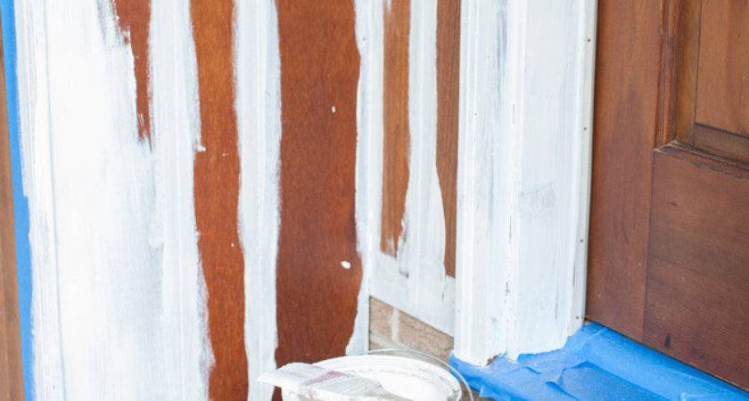Paint Wood Paneling Successfully Own Style