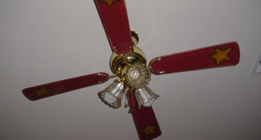 Painted Ceiling Fan Blades Prim Mart