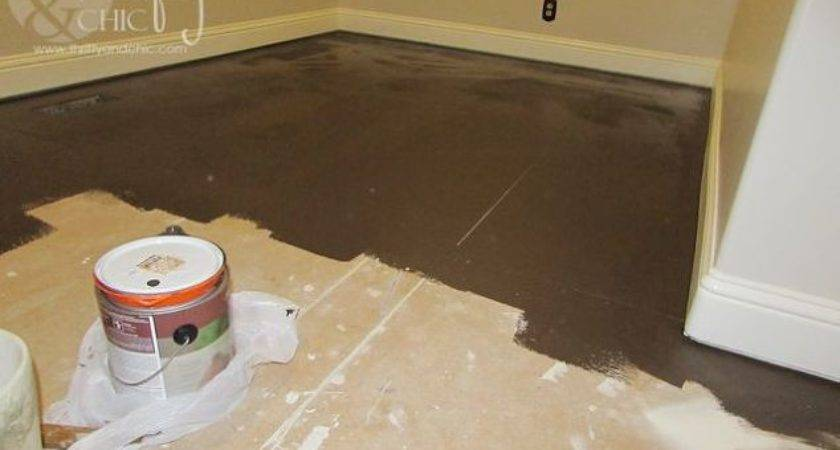 Painted Plywood Sub Flooring Hometalk