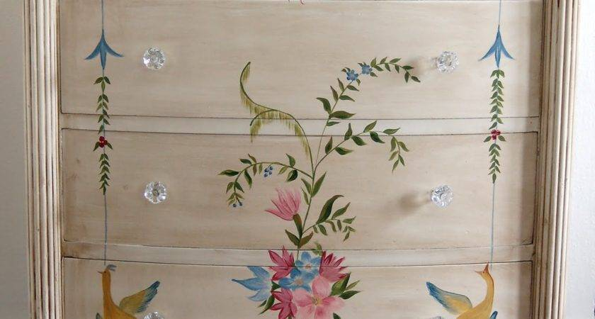 Painted Wood Furniture Beauty Appearance Trellischicago