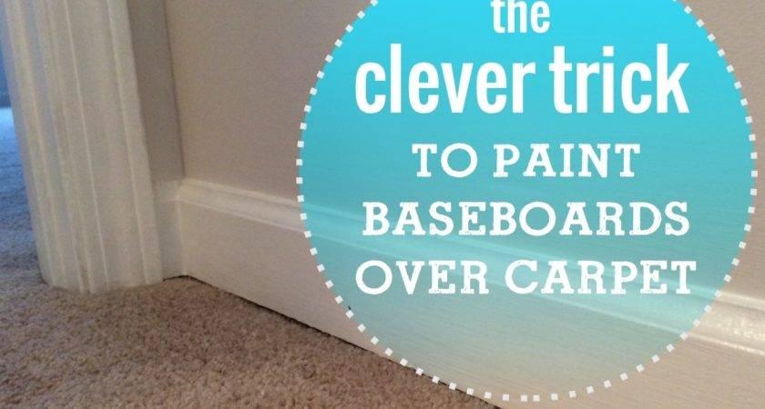 Painting Baseboards Carpet Vidalondon