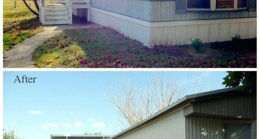 Painting Exterior Manufactured Home Homes