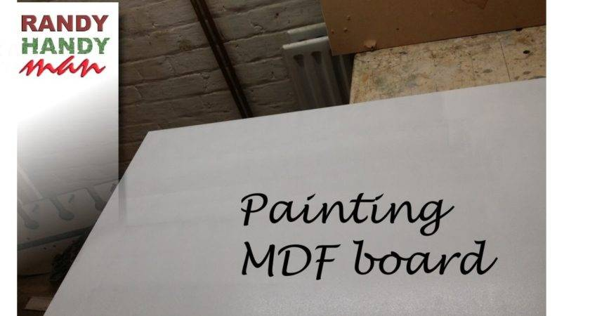 Painting Mdf Board Paint Bare