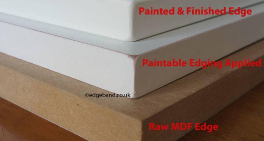 Painting Mdf Edges Edgeband