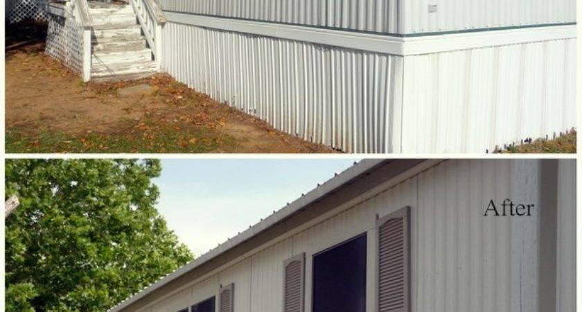 Painting Mobile Home Exterior Colors Pics Joy Studio