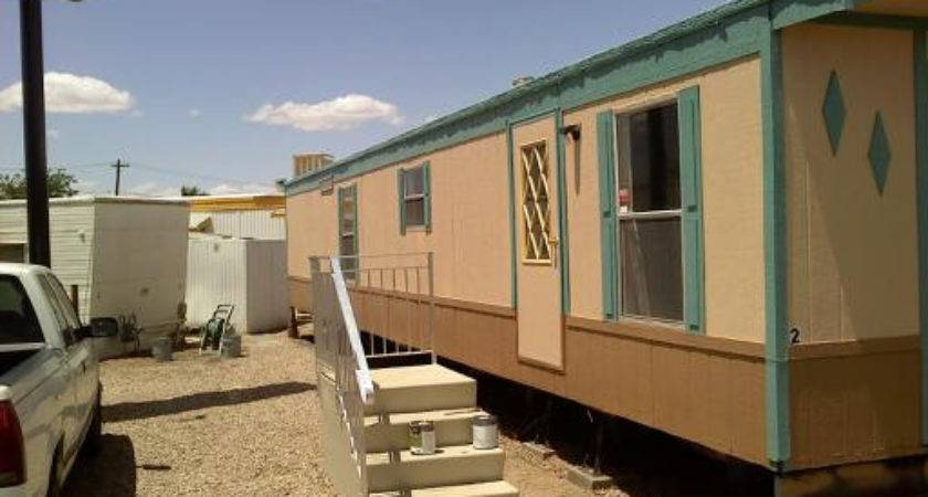 Painting Mobile Home Exterior Design Ideas