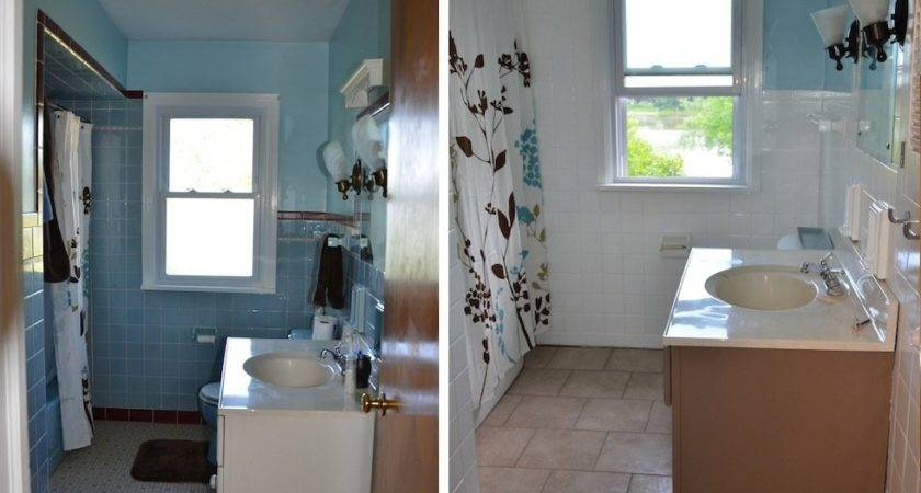 Painting Over Bathroom Tiles