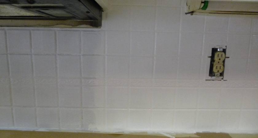 Painting Over Tile Backsplash Hilldalehouse