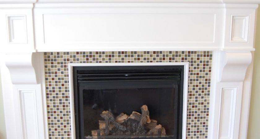 Paisley Patchwork Fireplace Remodel