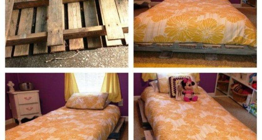 Pallet Bed Frame Queen Frames Twin