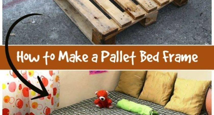 Pallet Bed Ideas Step Frame
