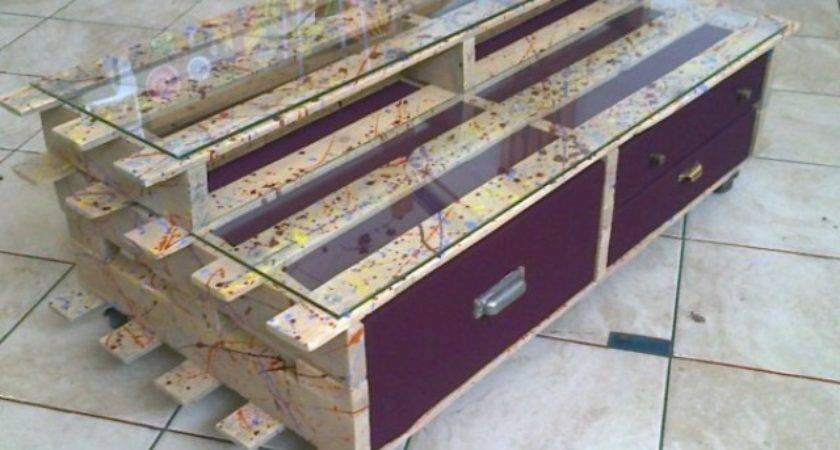 Pallet Bedroom Furniture Plans