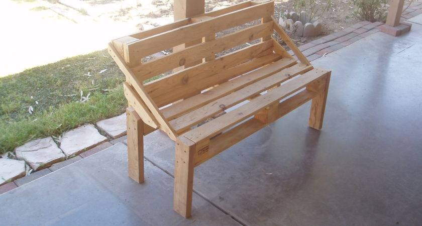 Pallet Bench Project Steps