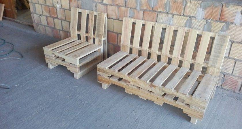 Pallet Benches Top Find Pin More