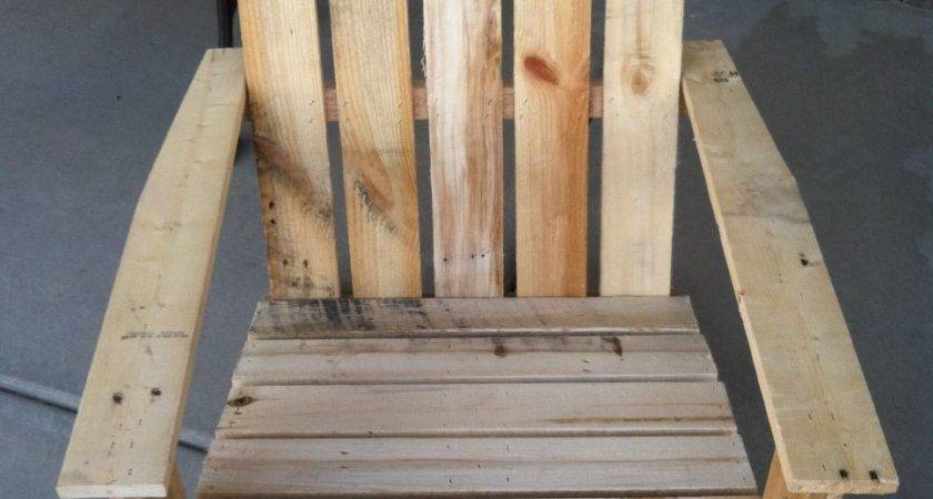 Pallet Bookshelf Outdoor Chairdiy