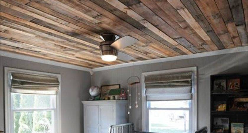 Pallet Ceiling Ideas Your Home Pallets Designs
