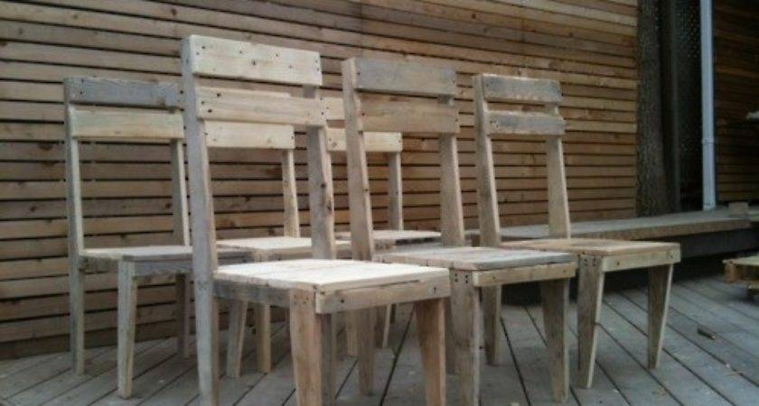 Pallet Chair Ideas Innovation Furniture Plans