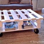 Pallet Coffee Table Tutorial