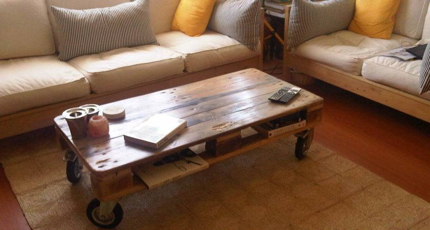 Pallet Coffee Tables Big Espresso Table
