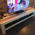 Pallet Console Media Stand Ideas