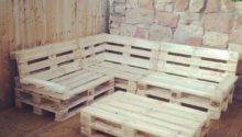 Pallet Corner Seat Decking Area New House